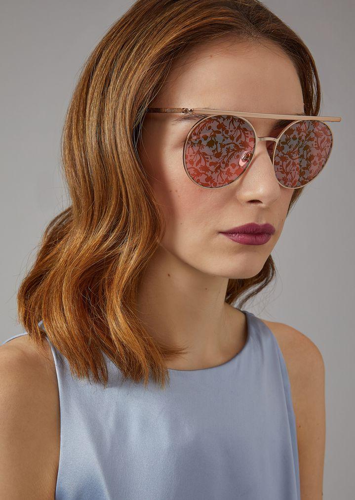 abb76ee38f01 ... Woman · Sunglasses  Catwalk Sunglasses With Floral Lenses. GIORGIO  ARMANI