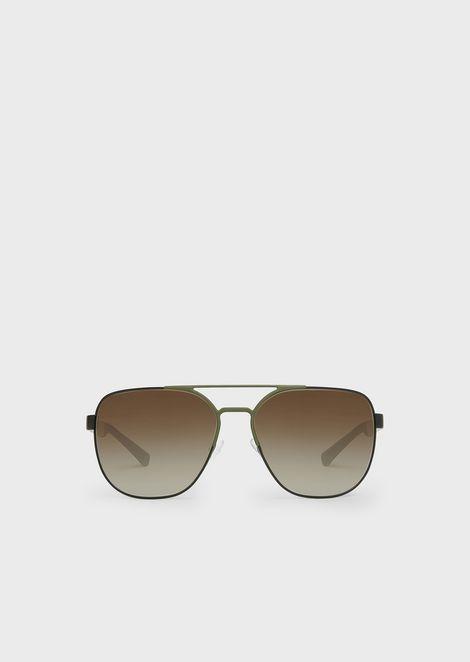 Sunglasses In Rubber & Aluminium