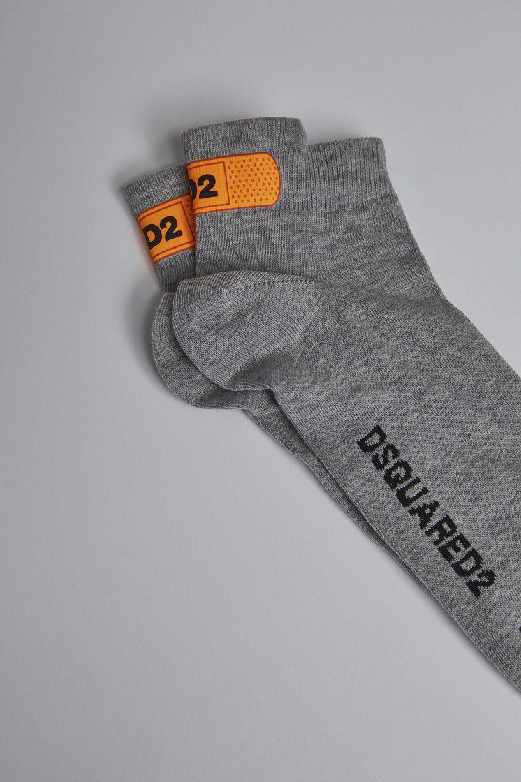 DSQUARED2 Fluo Plaster Socks Ankle socks Man