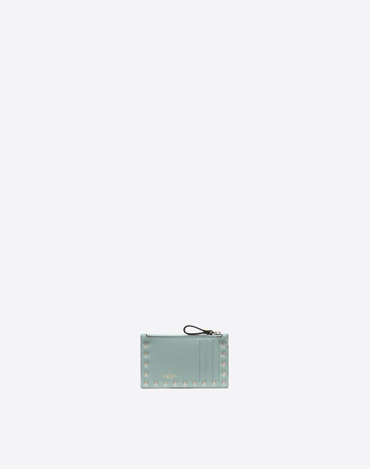 VALENTINO GARAVANI Rockstud Coin Purse and Card Case COIN PURSES & CARD CASES D d
