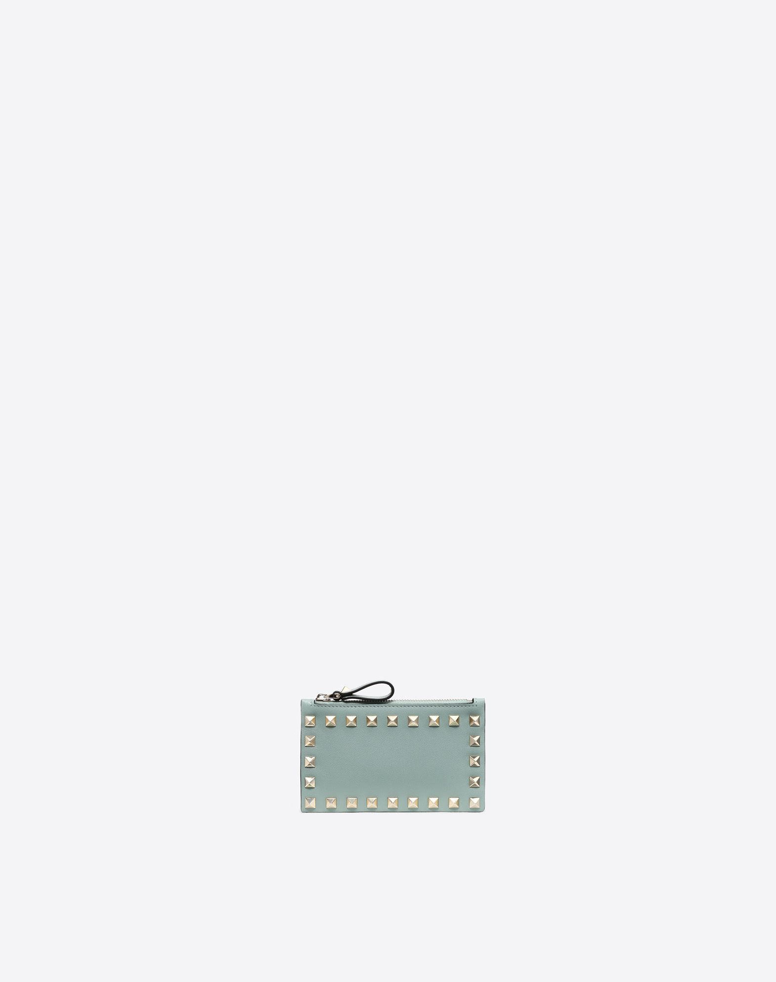 VALENTINO GARAVANI Rockstud Coin Purse and Card Case COIN PURSES & CARD CASES D f