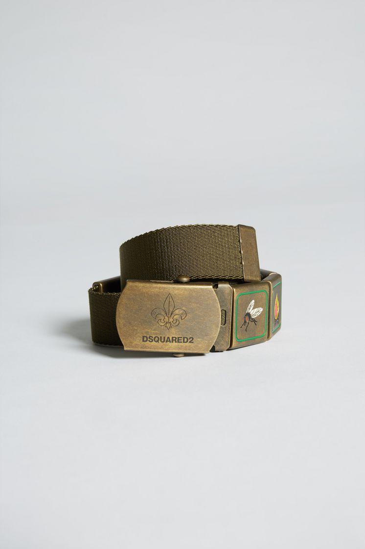 DSQUARED2 Bad Scout Glamping Slide Belt Belt Man