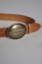 DSQUARED2 Bad Scout Plaque Belt Belt Man