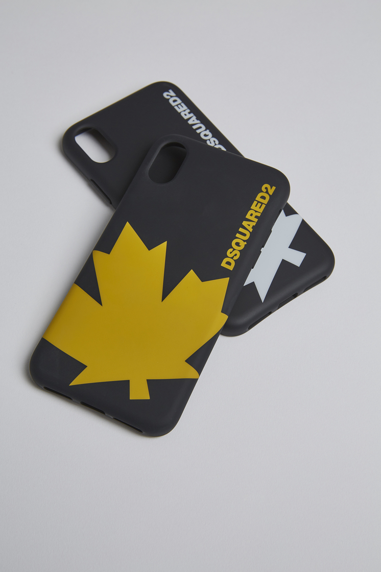 reputable site c1e58 91696 Dsquared2 Canadian Flag IPhone X Cover Black - IPhone X Covers for ...