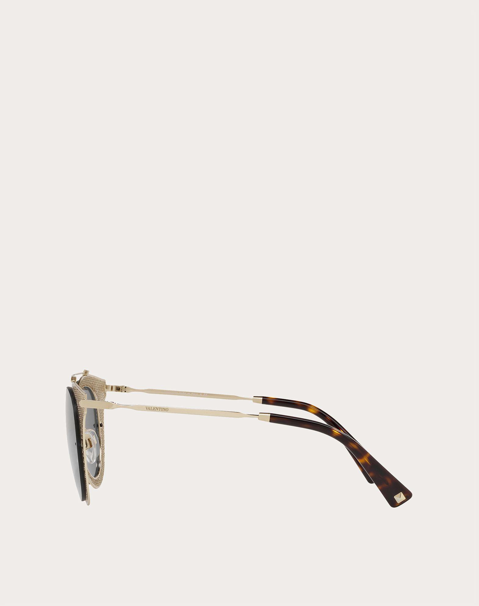 VALENTINO OCCHIALI Gafas de sol de metal Gafas de sol E d