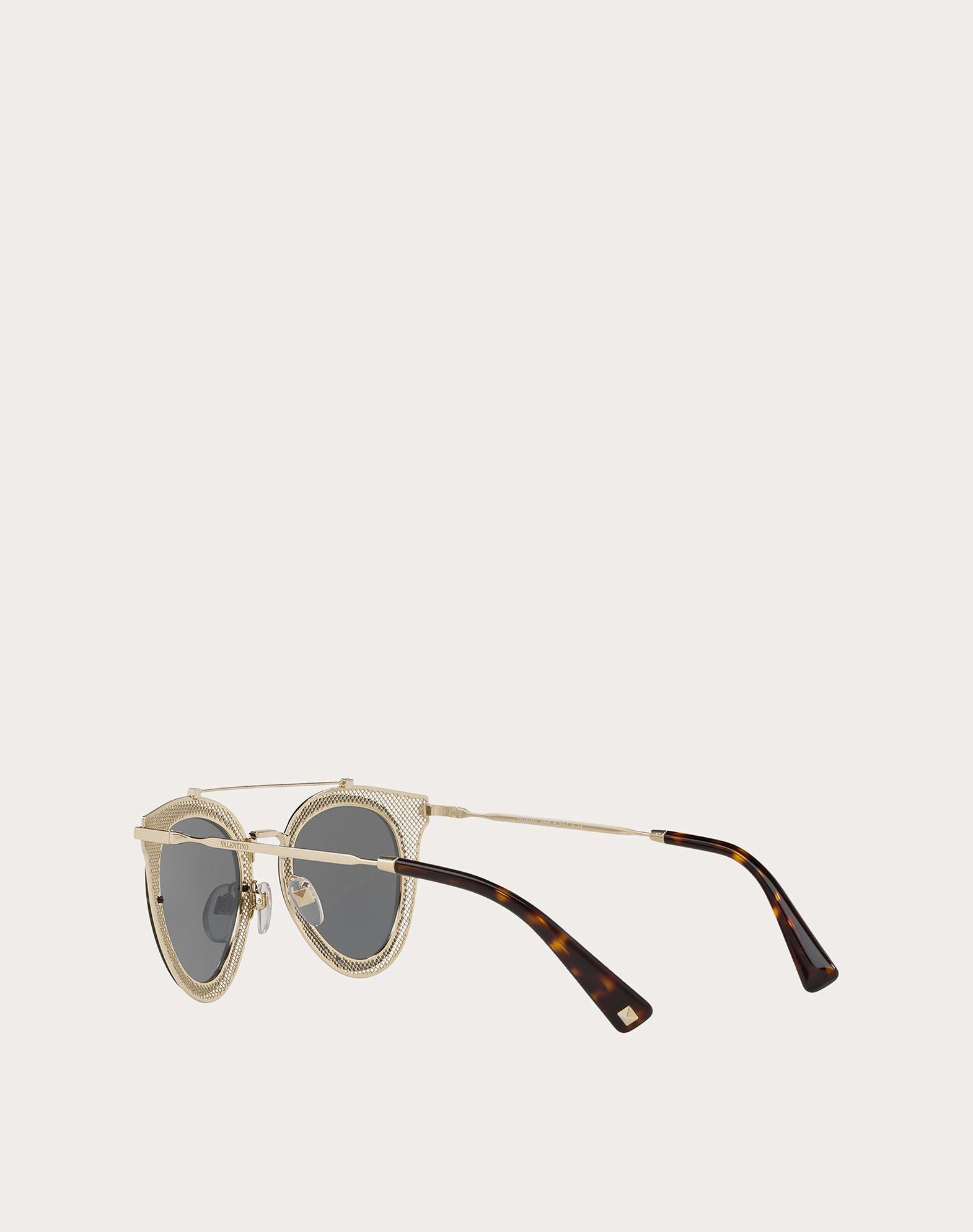 VALENTINO OCCHIALI Metal Sunglasses Sunglasses E e