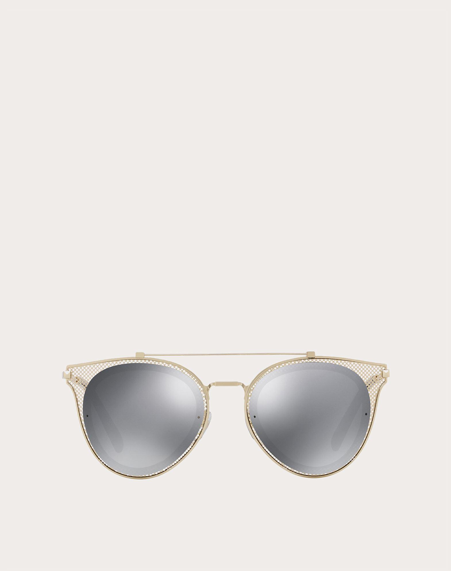 VALENTINO OCCHIALI Metal Sunglasses Sunglasses E f