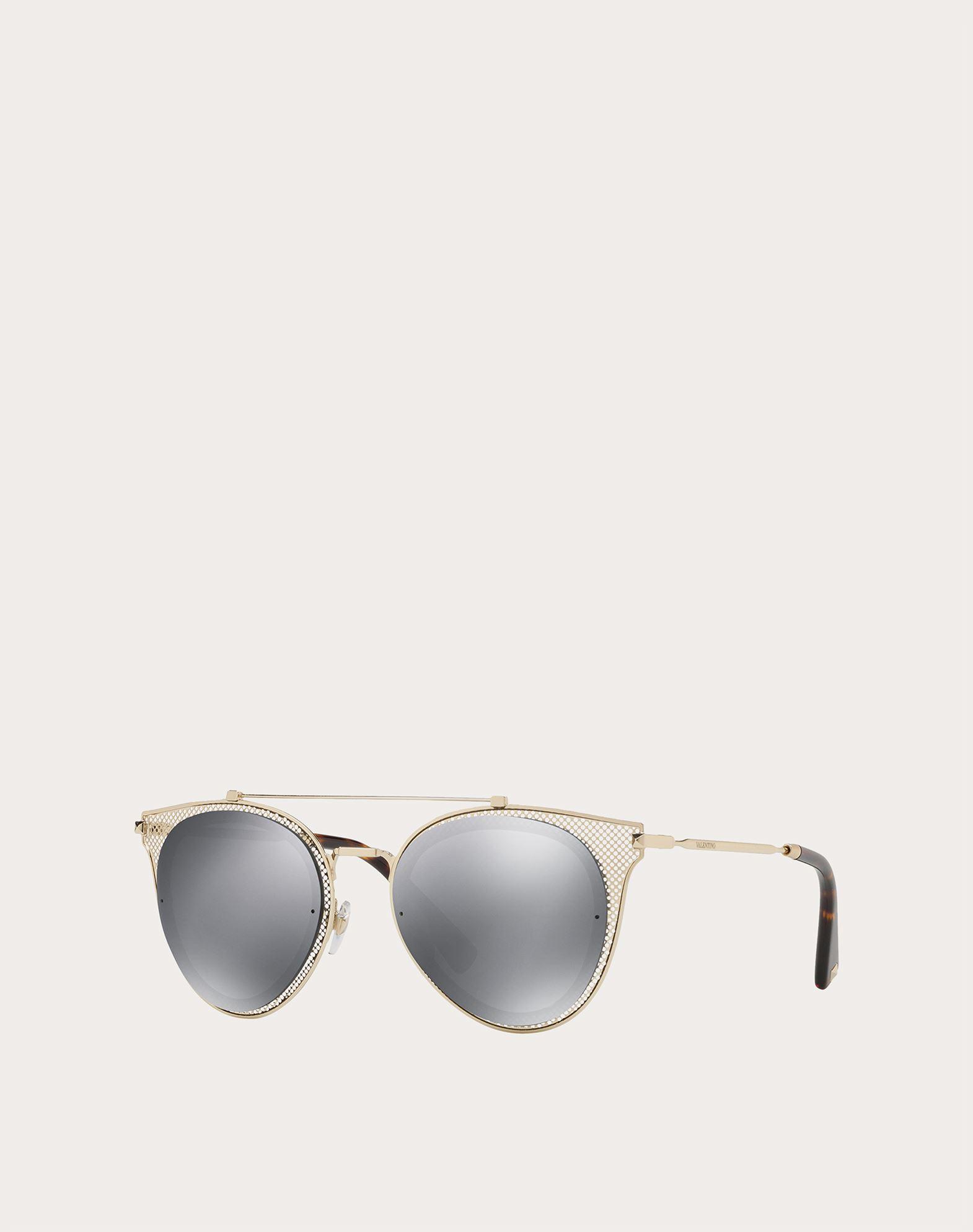 VALENTINO OCCHIALI Metal Sunglasses Sunglasses E r