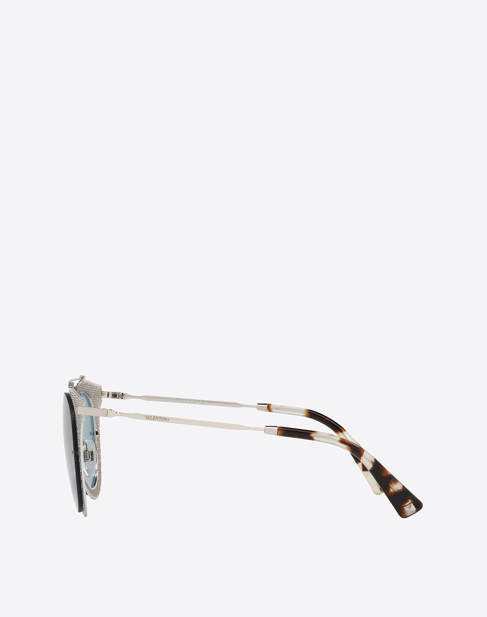 VALENTINO OCCHIALI Metal Sunglasses Sunglasses E d