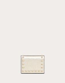 VALENTINO GARAVANI COMPACT WALLETS D Rockstud Compact Wallet f