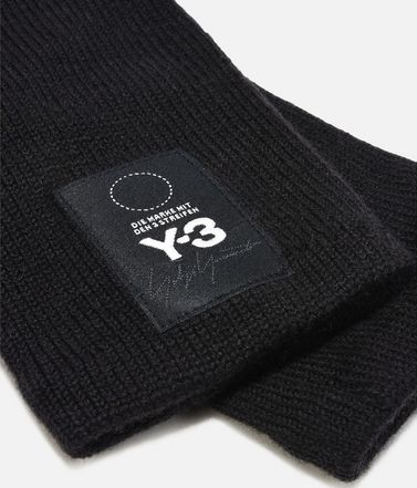 Y-3 Gloves E Y-3 Logo Gloves r