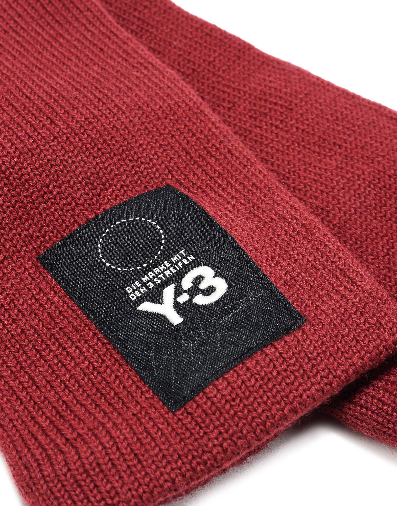 Logo y 3 guanti ruggine per donne adidas y 3 negozio ufficiale