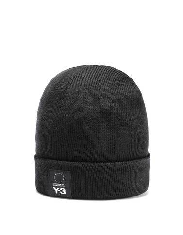 Y-3 Logo Beanie OTHER ACCESSORIES woman Y-3 adidas