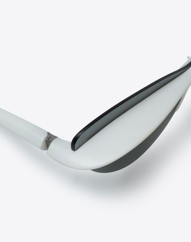 ACCESSORIES MYKITA + MAISON MARGIELA 'ECHO' White