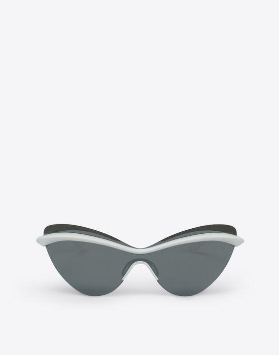 MAISON MARGIELA White MMECHO001 Eyewear [*** pickupInStoreShipping_info ***] f