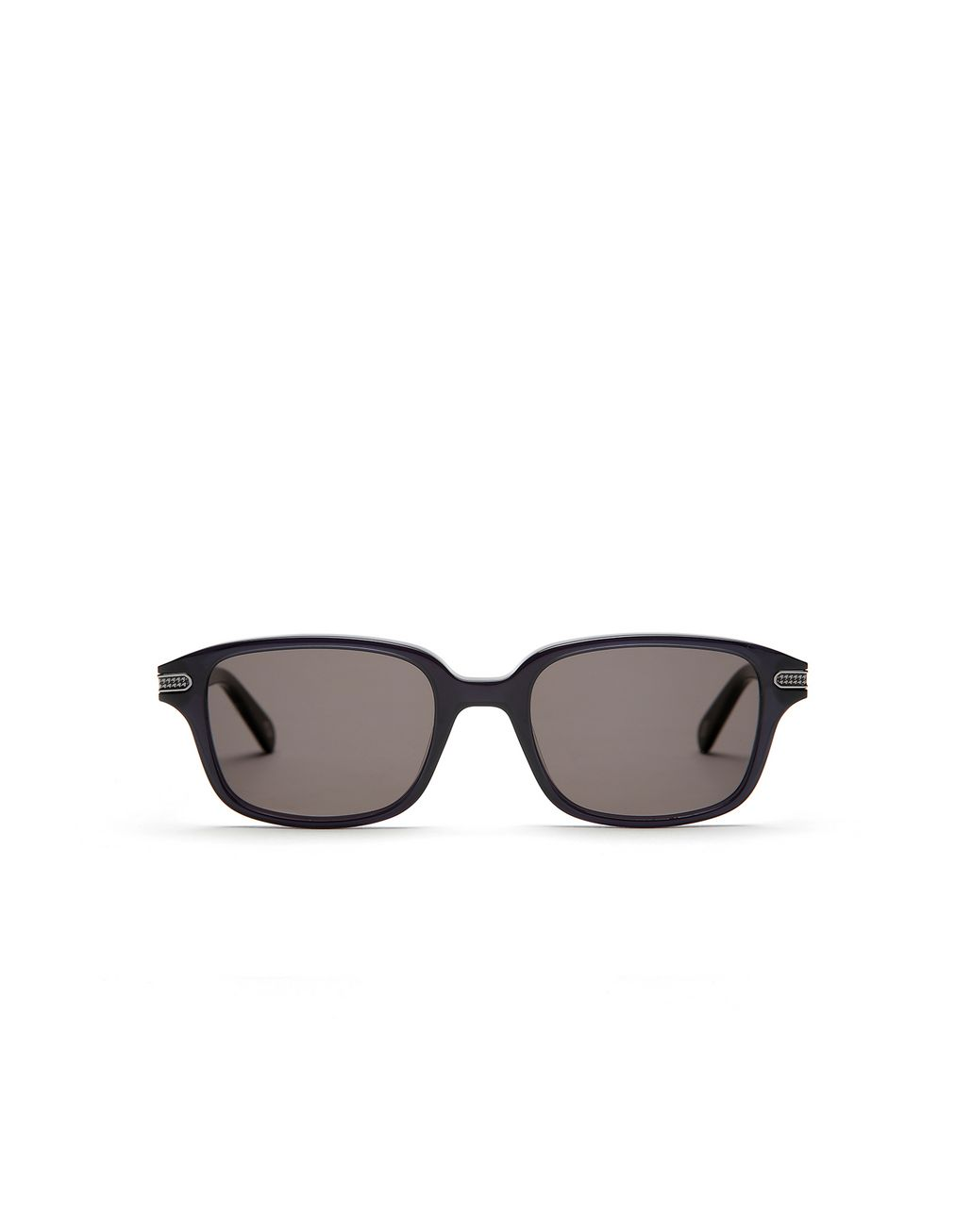 BRIONI Navy Blue Squared Sunglasses with Grey Lenses  Sunglasses [*** pickupInStoreShippingNotGuaranteed_info ***] f