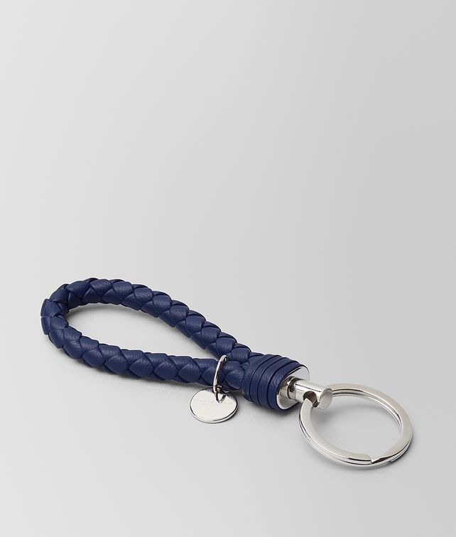 BOTTEGA VENETA ATLANTIC INTRECCIATO NAPPA KEY HOLDER Keyring or Bracelets E fp