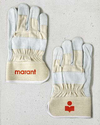 Marant logo gloves