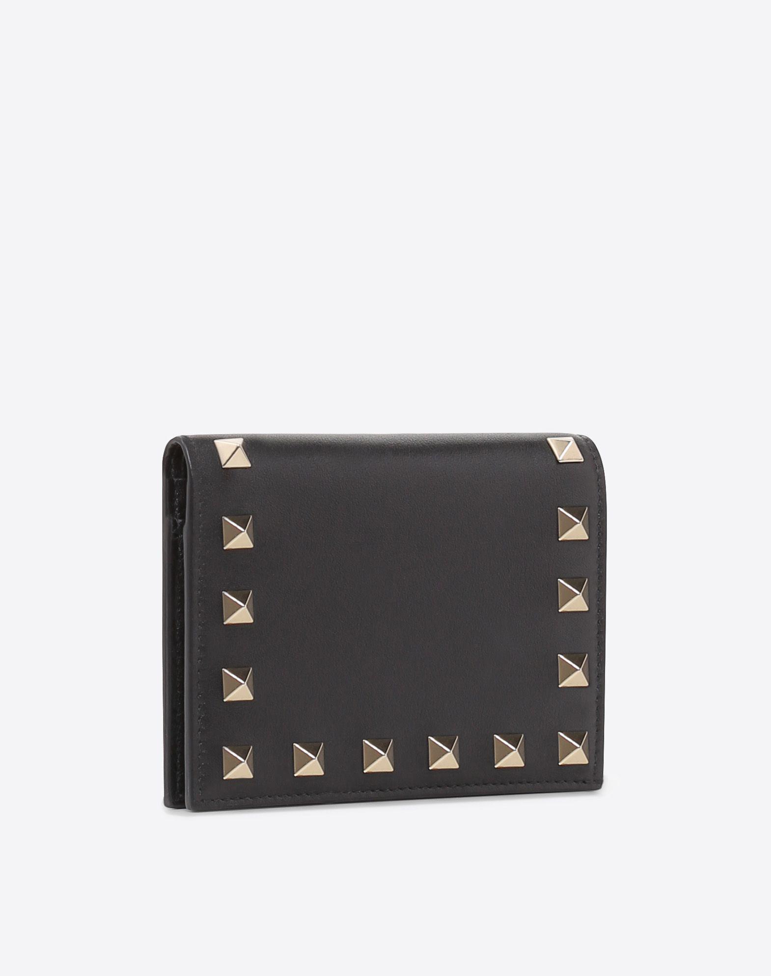 VALENTINO GARAVANI Rockstud Compact Wallet COMPACT WALLETS E r