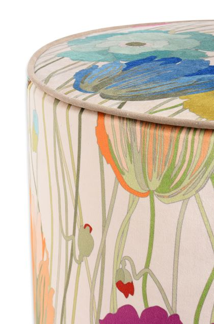 MISSONI HOME VANCOUVER CYLINDER POUF Sand E - Front