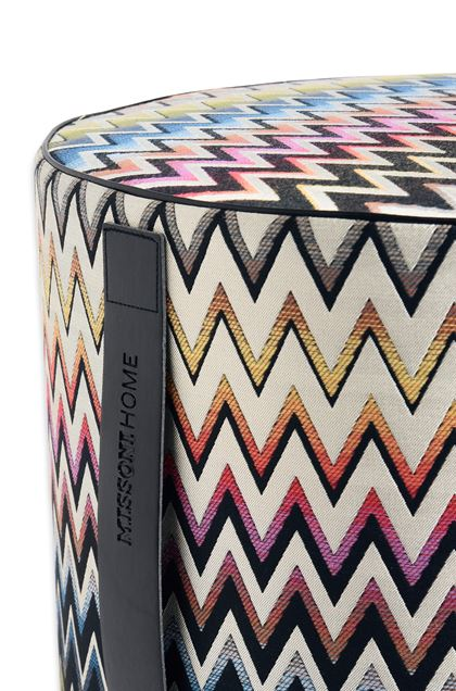 MISSONI HOME VERNAL ПУФ-ЦИЛИНДР Слоновая кость E - Передняя сторона