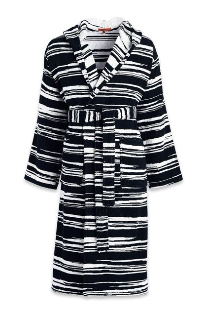 MISSONI HOME VINCENT BATHROBE Black E - Back