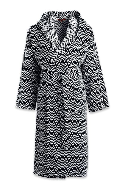 MISSONI HOME VANNI BATHROBE Black E - Back