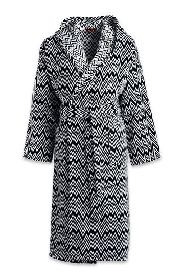 MISSONI HOME Towelling robe E KEITH HOODED BATHROBE m