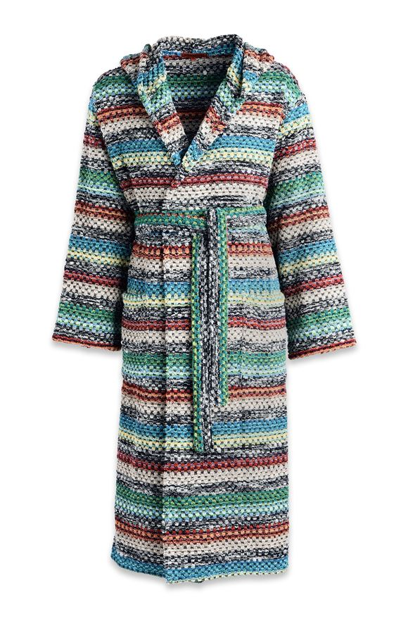 MISSONI HOME VIRGINIO BATHROBE E, Frontal view