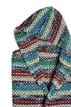 MISSONI HOME VIRGINIO HOODED BATHROBE Towelling robe E b