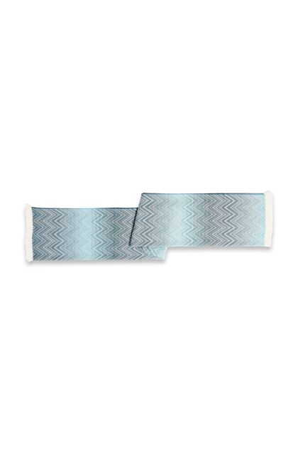 MISSONI HOME TIMMY PLAID Turquoise E - Devant