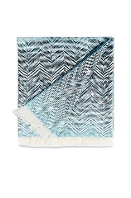 MISSONI HOME TIMMY THROW Turquoise E - Back
