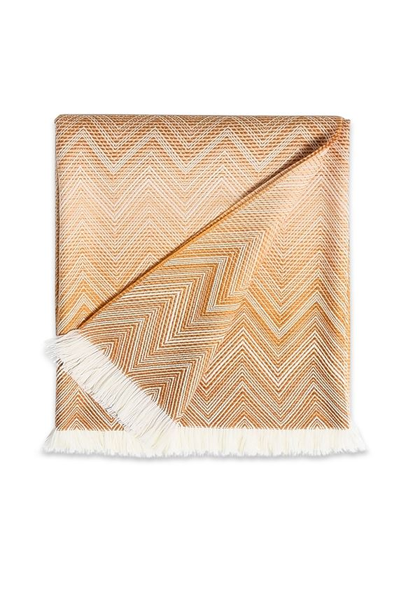 MISSONI HOME TIMMY THROW Peach E