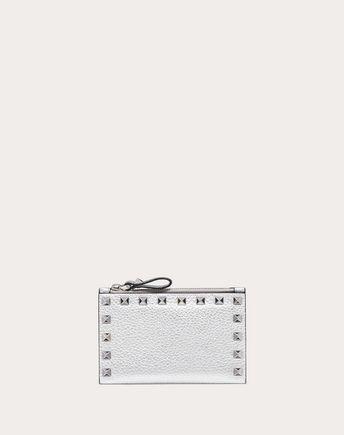 VALENTINO GARAVANI CARD CASE D Rockstud Cardholder f