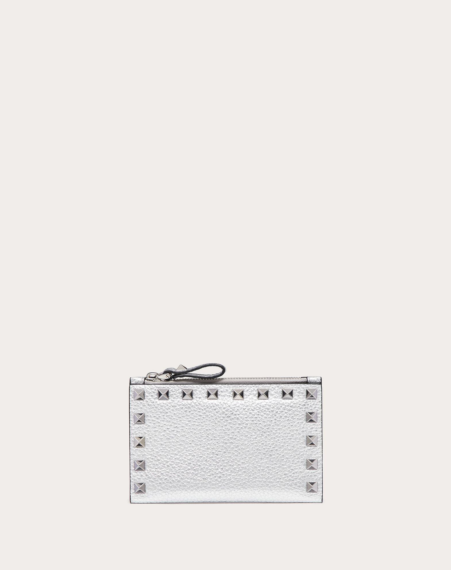 Valentino Garavani - Porte-cartes en cuir Rockstud h2g7tvM