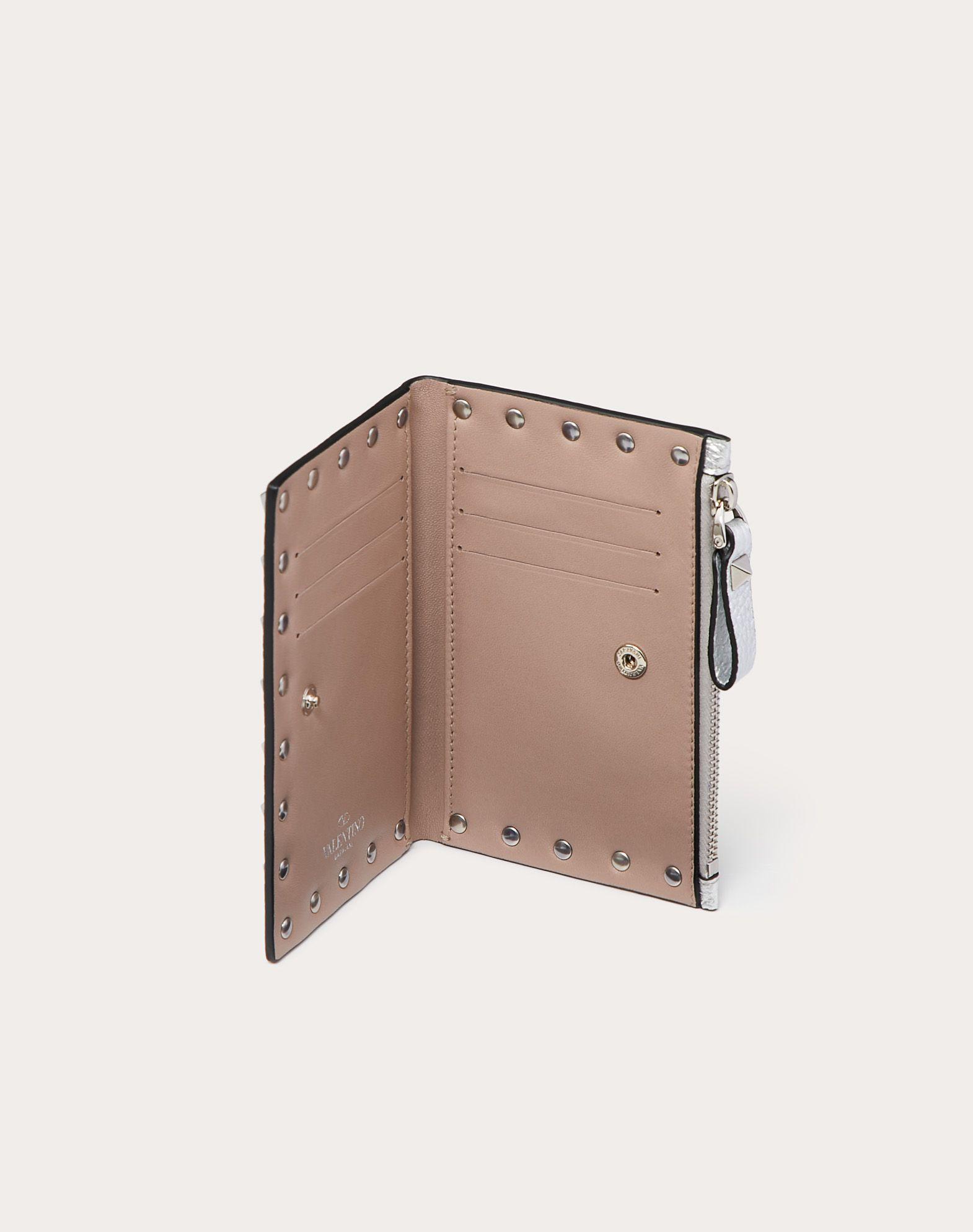 VALENTINO GARAVANI Rockstud Coin Purse and Card Case COIN PURSES & CARD CASES D a