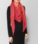 BOTTEGA VENETA RED WOOL SCARF Scarf Woman rp
