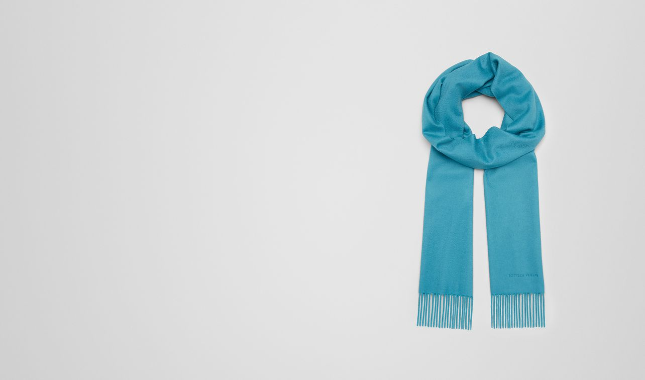 turquoise cashmere scarf landing