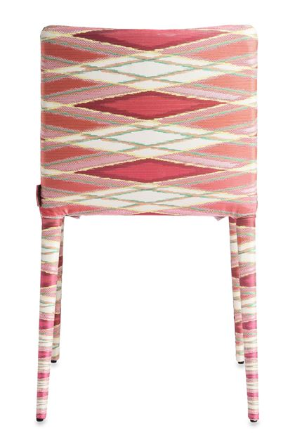 MISSONI HOME MISS CHAISE Fuchsia E - Devant