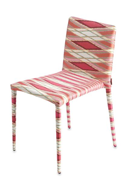 MISSONI HOME MISS CHAISE Fuchsia E - Derrière