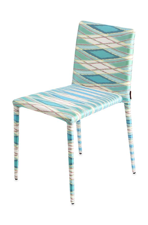 MISSONI HOME MISS CHAIR E, Frontal view