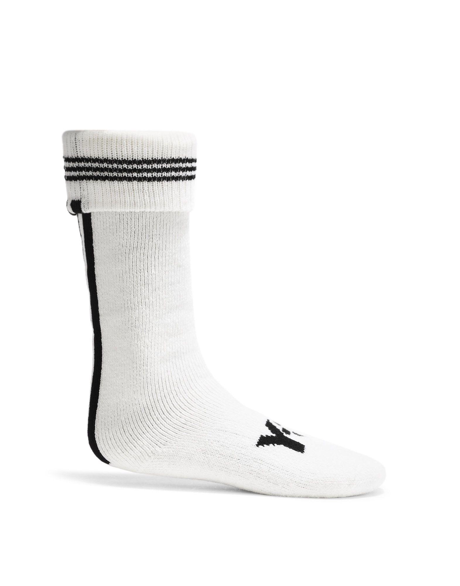 y 3 inverno calzini bianchi per donne adidas y 3 negozio ufficiale