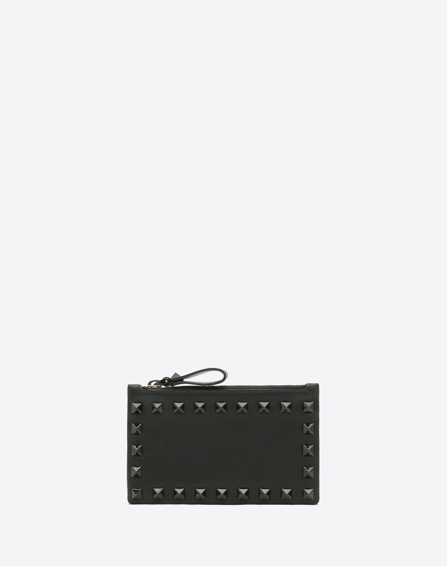 VALENTINO GARAVANI Rockstud Coin Purse and Cardholder COIN PURSES & CARD CASES D f