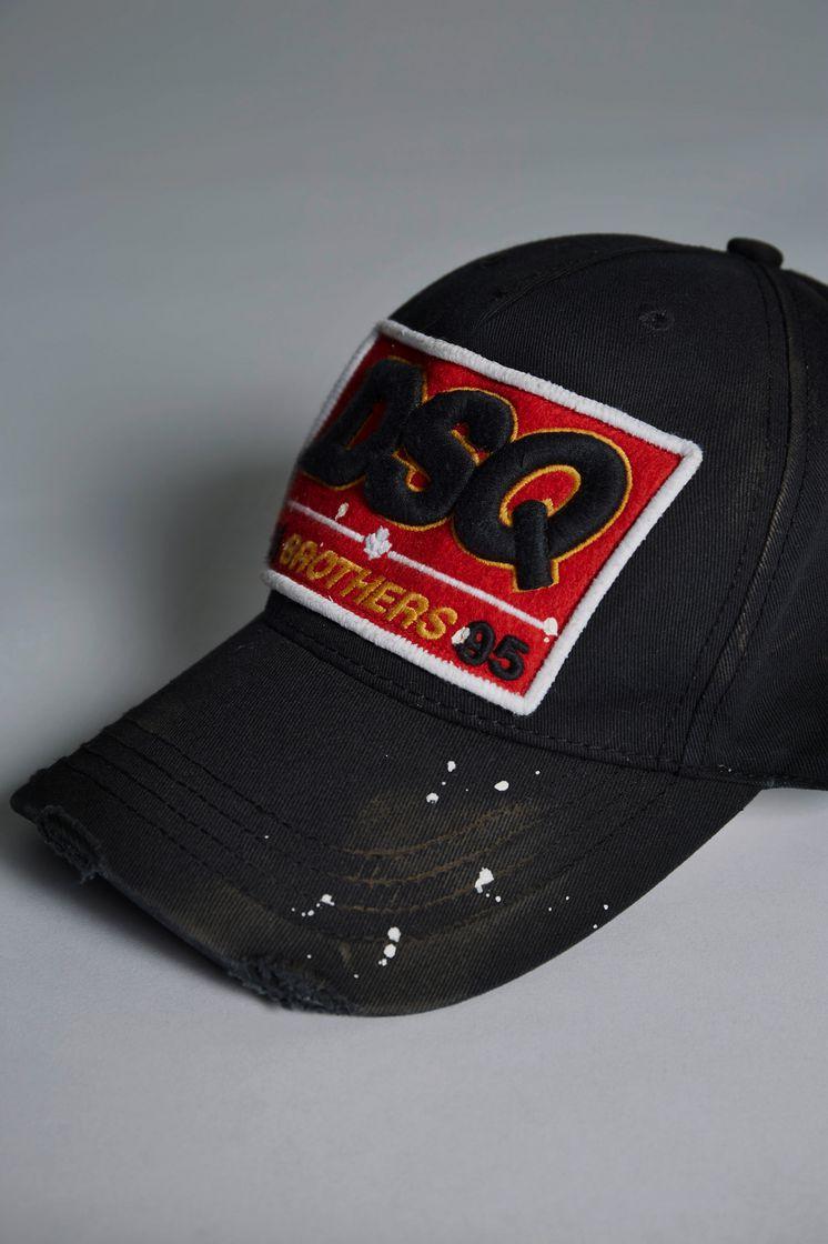 Dsquared2 DSQ Baseball Cap - Hats for Men ... a26bc503b40