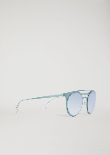 fa01156b82 Metal sunglasses with double bridge