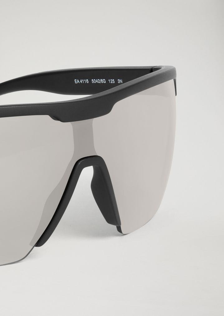 EMPORIO ARMANI Sporty sunglasses with coloured lenses Sunglasses Man e