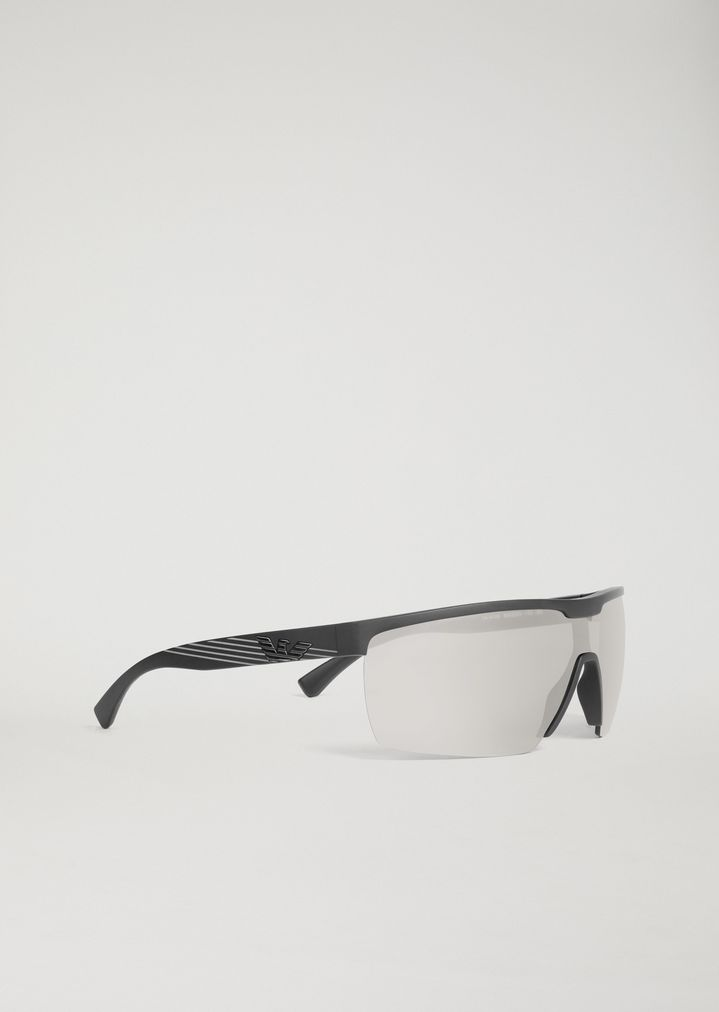 51b9028c6f9 Sporty sunglasses with coloured lenses
