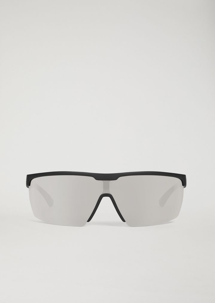 EMPORIO ARMANI Sporty sunglasses with coloured lenses Sunglasses Man r