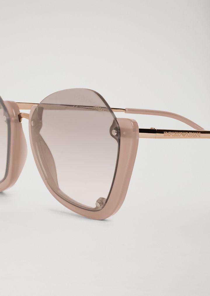 c446766058f3 ... Woman · Sunglasses  Sunglasses with half frame. EMPORIO ARMANI
