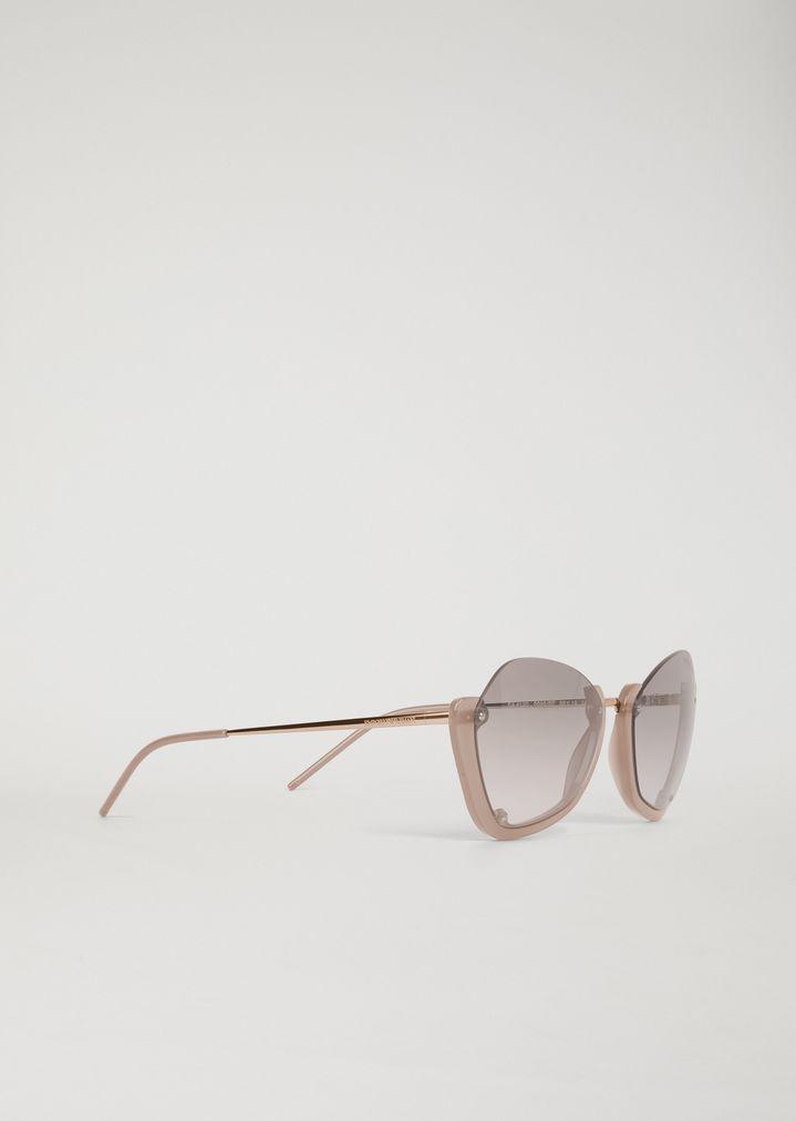 6bba68a66369 Sunglasses with half frame